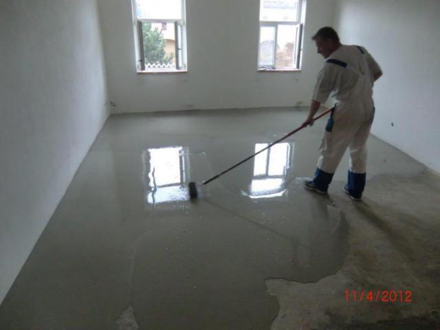 Vyrovnani podlahy